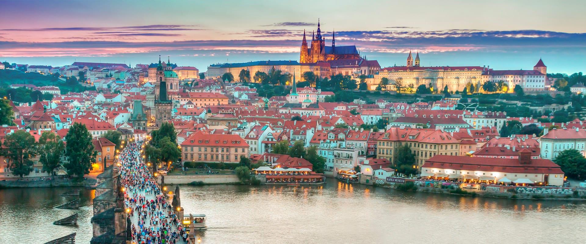 Trem de Praga para Munique