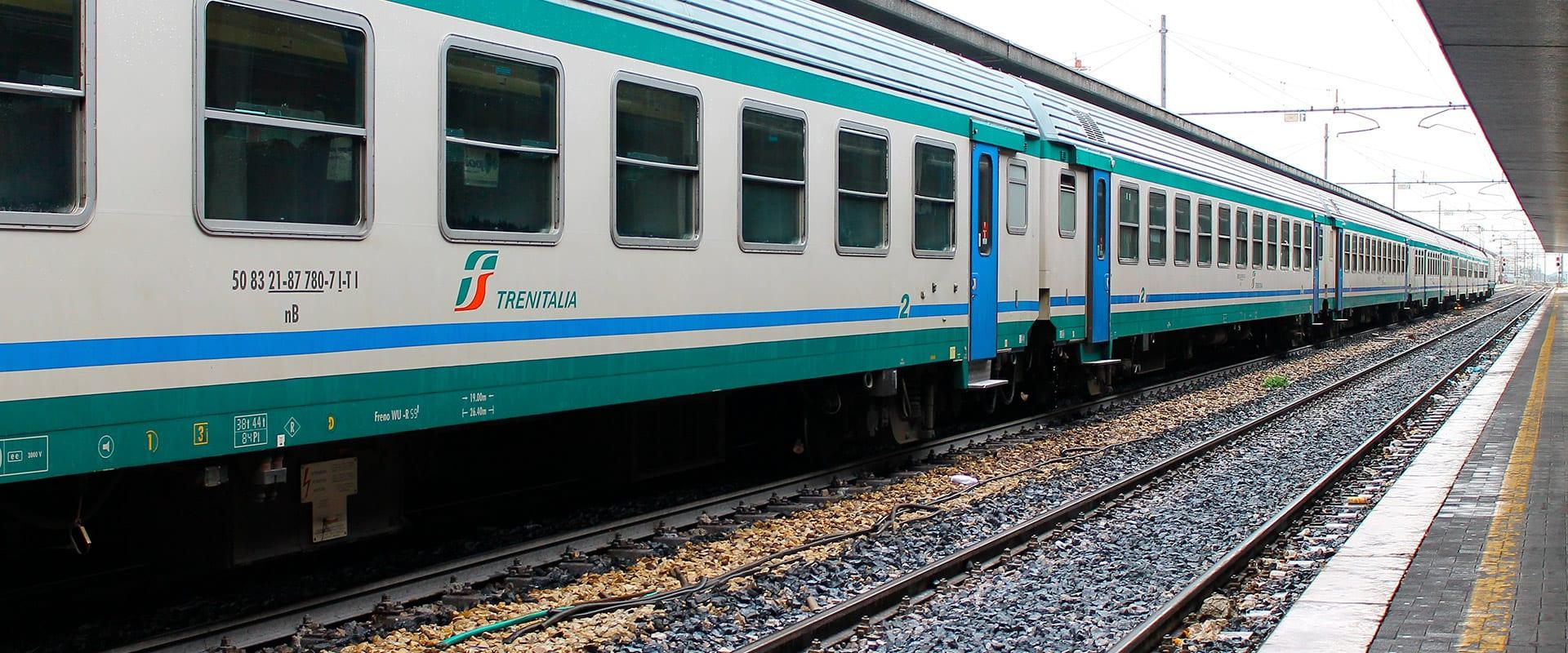Trem de Florença para Roma