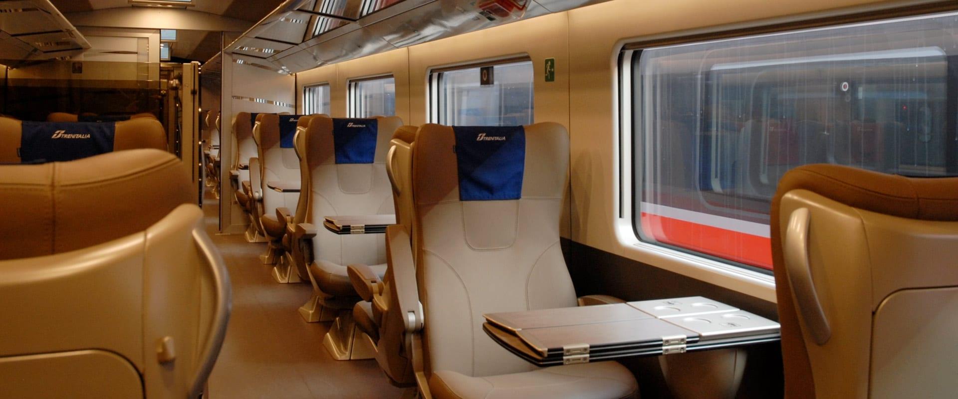 Trem de Roma para Nápoles