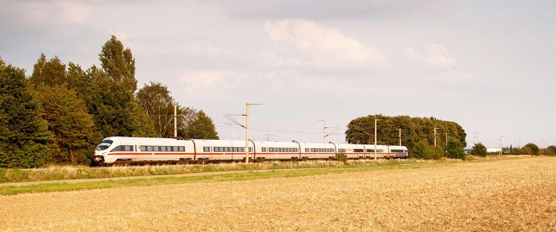 Trem de Frankfurt para Colônia