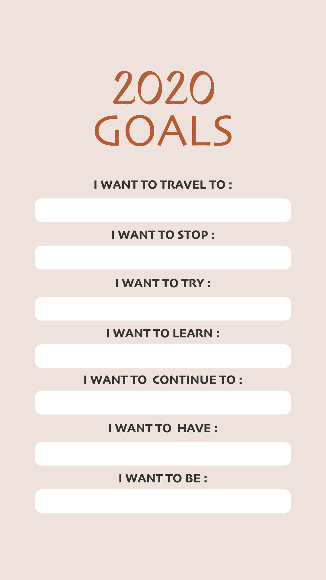25 Vision Board Templates To Map Out Your Dream Goals