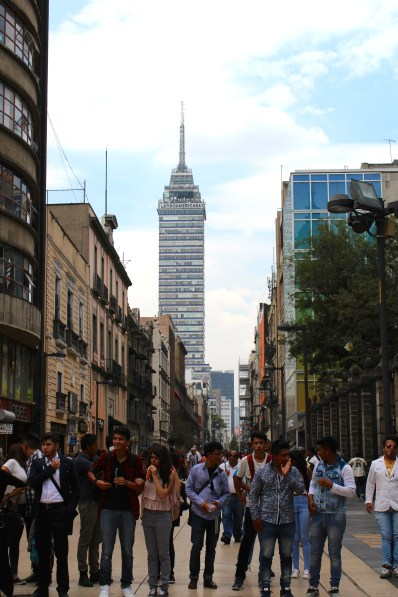 The Torre Latinoamérica (Mexico City)