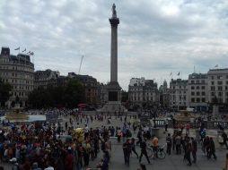 Plaza de Trafalgar Square – Londres