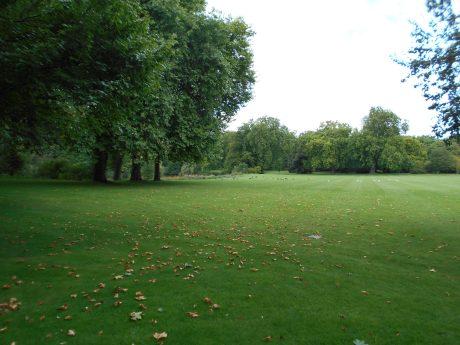 Jardin Interior Buckingham Palace - Londres