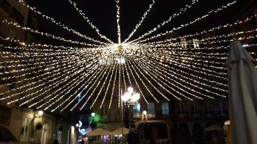 Plaza de la Constitución - Alumbrado Navidad 2018 Vigo