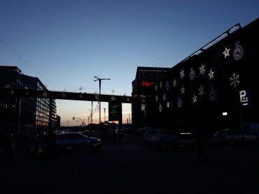 Iluminación de navidad en A Laxe. Alumbrado Navidad Vigo 2018