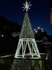 Urzáiz. Alumbrado Navidad Vigo 2018