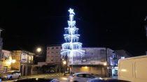 Árbol Plaza de San Sebastian - Alumbrado Navidad Porriño 2018