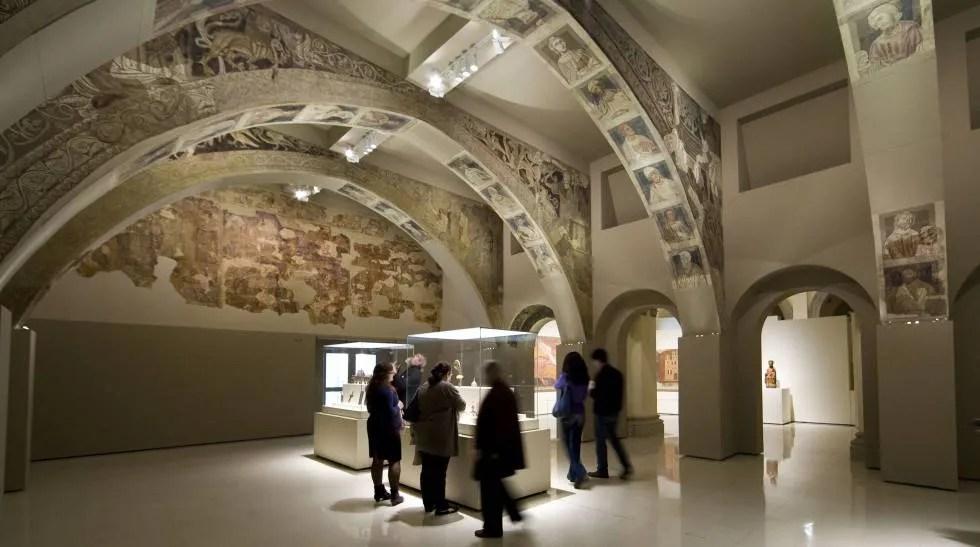 El expolio de los frescos romnicos de Villanueva de