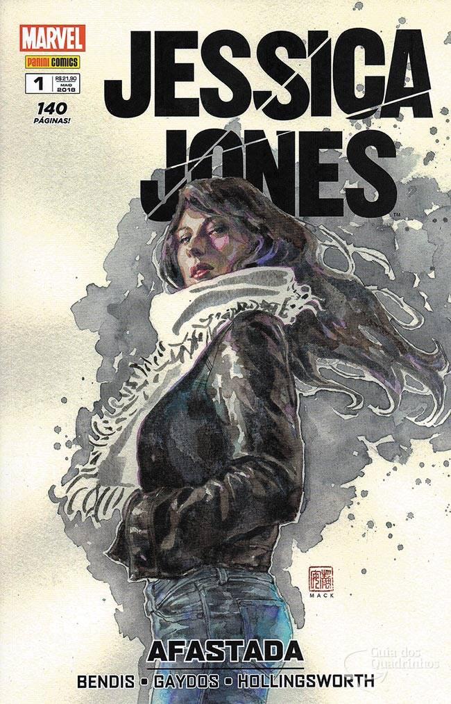 Jessica Jones: Afastada (vol 1) - resenha – Lugar Nenhum