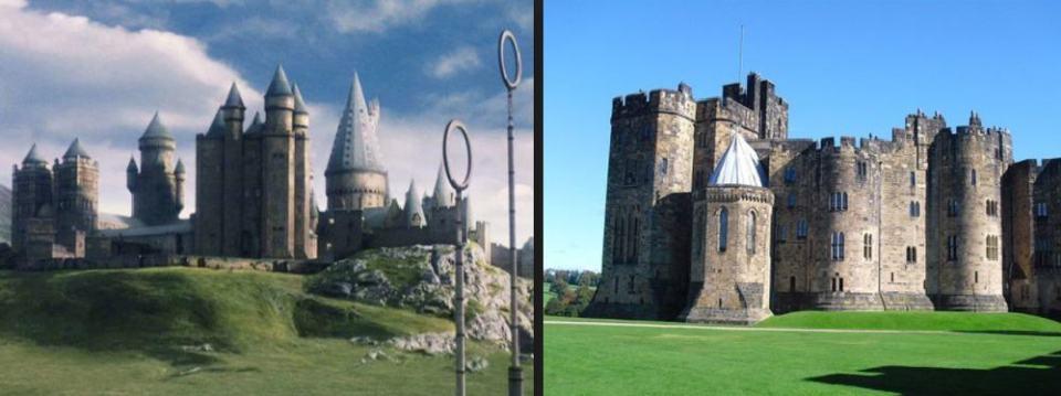 Destinos Pelicula Hogwarts UK
