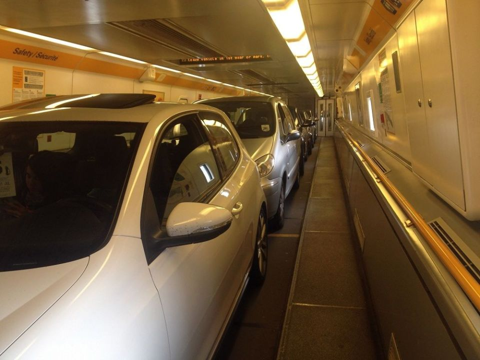Eurotunel vehículos