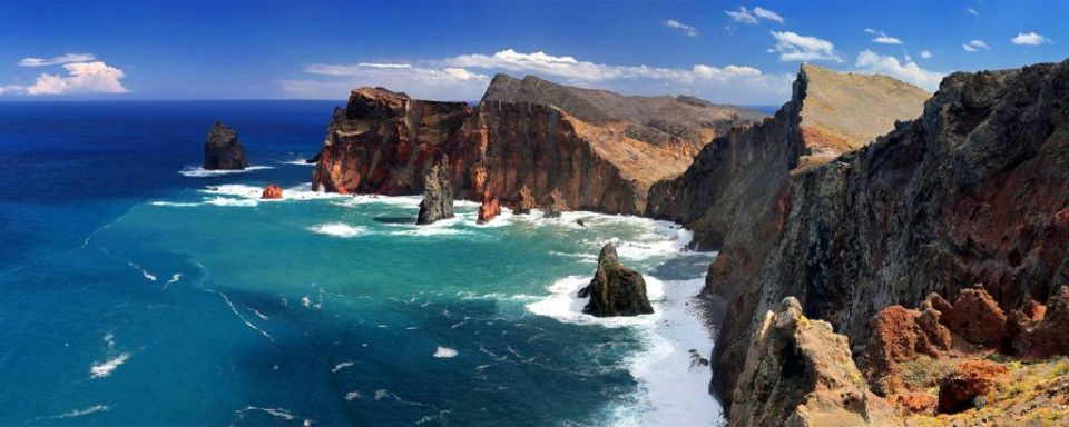 Punta de San Lorenzo, acantilados costeros de Europa (Madeira)