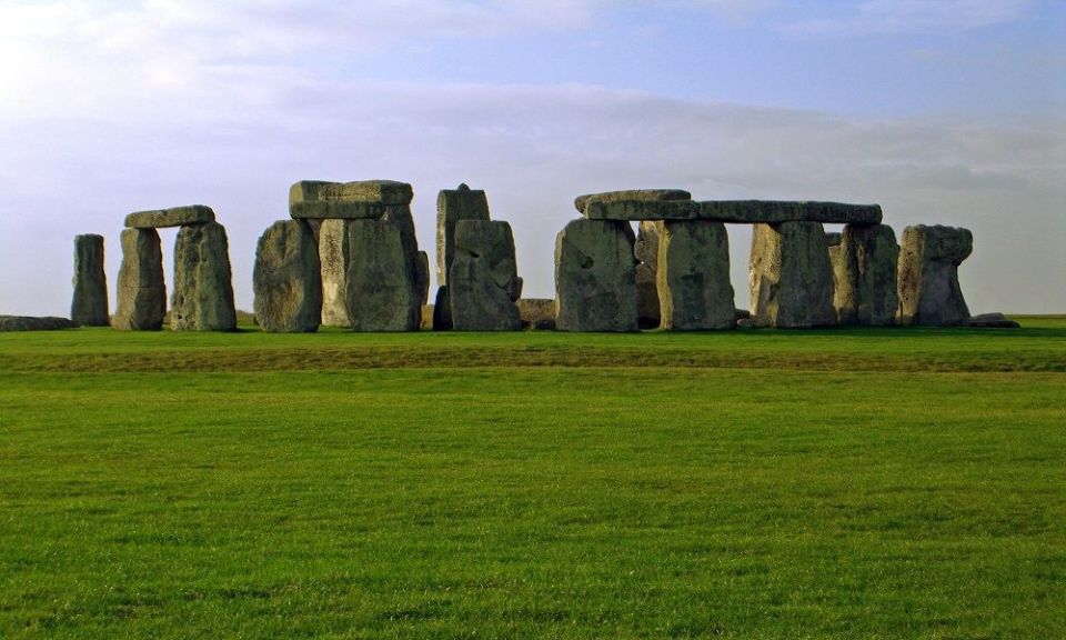 construcción de Stonehenge