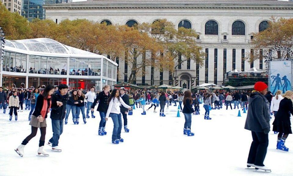 pista de hielo en Praga