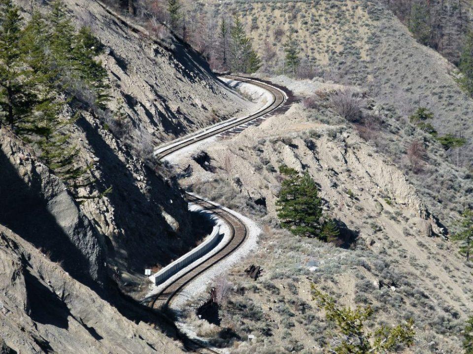 El tren turístico Rocky Mountaineer