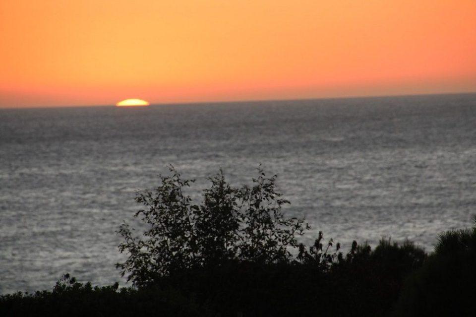 atardecer Cabo Roche Cádiz