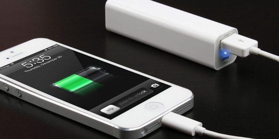 Baterías externas o powerbanks de gran capacidad para viajar
