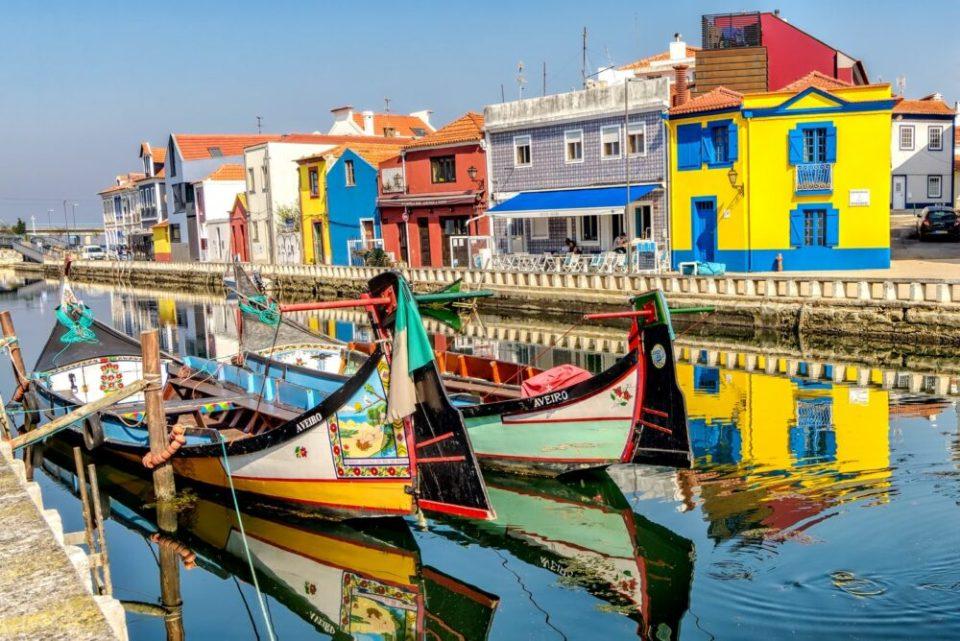 Aveiro, uno de los pueblos costeros más bonitos que ver en Portugal