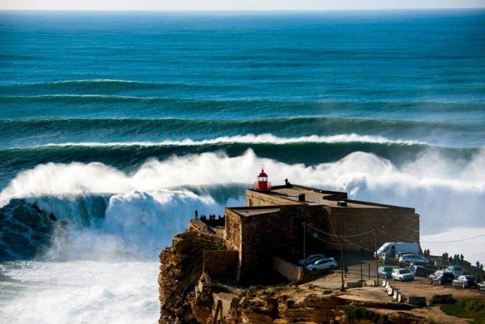 Nazaré, capital del surf