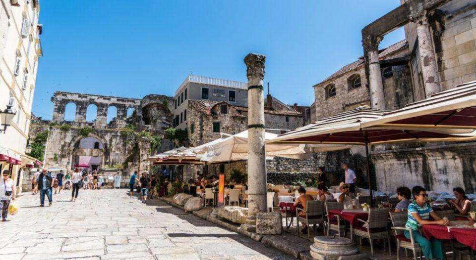 Restos romanos en Split