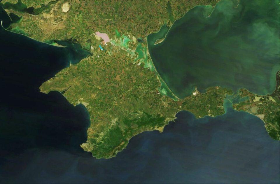 mapa Crimea