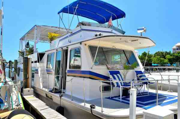 Naples houseboat