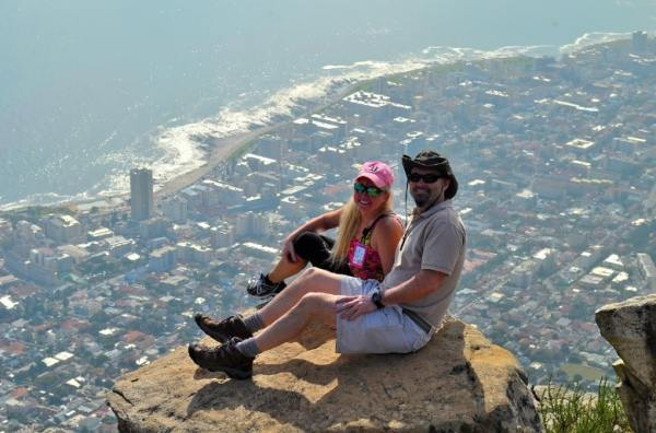 Steve and Patti on Lions Head