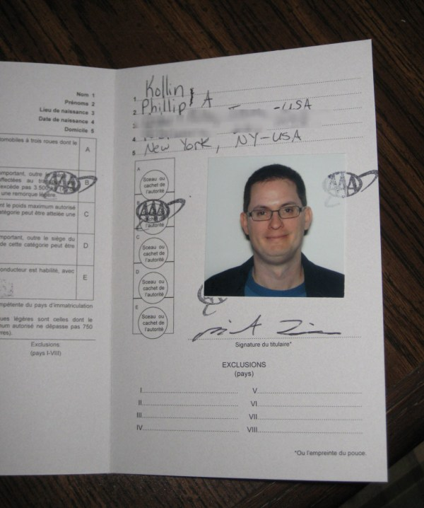 International Driver S License - Year of Clean Water