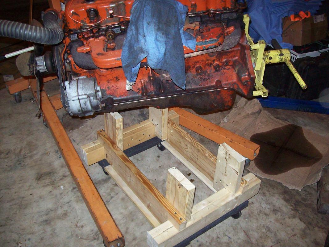 Engine Dolly EZ To Make Lugnutz65ChevyStepside