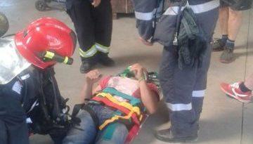 Lugoj Expres ISU Timiș - exercițiu tactic, la Făget pompieri ISU Timiș incendiu Făget