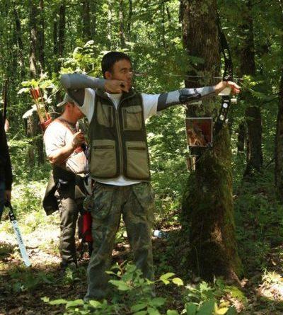 Lugoj Expres Concurs de tir cu arcul, în pădurea din apropierea Hanului Ana Lugojana