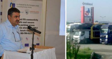 Lugoj Expres Parcare de cinci milioane de euro pe șoseaua de centură a Lugojului, cu fonduri europene parcare securizată Daniel Gabriel Olariu centura Lugojului Ausnit Olariu și Asociații