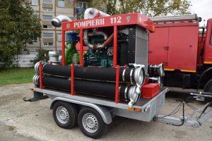 Lugoj Expres pompieri-autocamion-motopompa