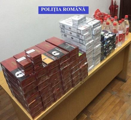 Lugoj Expres Nouă percheziții în zona Făgetului, la contrabandiștii de țigări, alcool și articole pirotehnice percheziții Făget contrabandă țigări articole pirotehnice