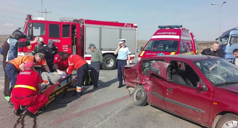 Lugoj Expres Femeie de 63 de ani, rănită grav într-un accident pe șoseaua de centură a Lugojului șoseaua de centură Impact violent femeie rănită grav centura Lugojului accident grav