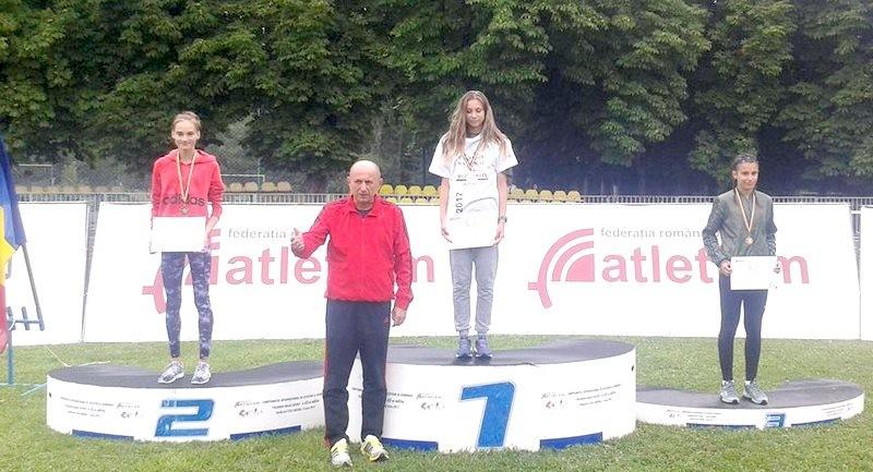 Lugoj Expres Atleta Miruna Pricop - campioană națională la 400 metri garduri record Miruna Pricop CSȘ Lugoj campioană națională atletism