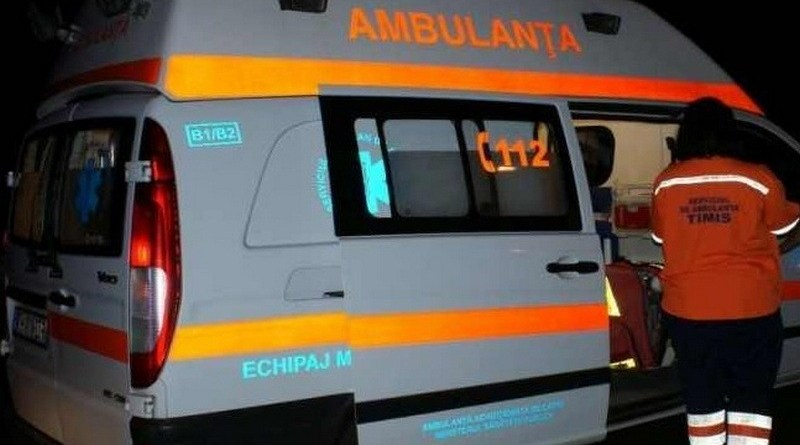 Lugoj Expres Microbuz răsturnat, pe DN6, în apropiere de Lugoj microbuz răsturnat femeie rănită DN6 accident