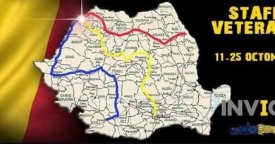 Lugoj Expres Go Invictus! Ștafeta Veteranilor trece (și) prin Lugoj Ziua Armatei Române la Lugoj voluntari ștafeta veteranilor militari Invictus alergare