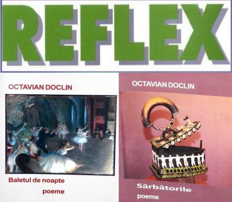 """Lugoj Expres Octavian Doclin și """"Reflex"""", la Casa Bredicenilor scriitori revistă Reflex poezie Octavian Doclin Eveniment literar Casa Bredicenilor apariții editoriale"""