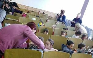 Lugoj Expres Copiii de la grădinițe au încondeiat ouă, la un concurs organizat de OFSD Lugoj PSD OFSD Lugoj OFSD încondeiat ouă copii concurs