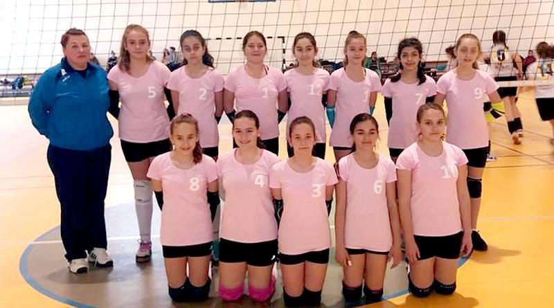 Lugoj Expres Echipa de minivolei a CSȘ Lugoj, calificată la turneul final al Campionatului Național turneul final minivolei micile voleibaliste CSȘ Lugoj calificare