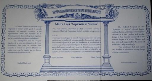 Lugoj Expres Incursiuni în Masoneria lugojeană. Eveniment inedit la English Pub prezentare masoneria lugojeană masoneria Lugoj loja masonică expoziție eveniment inedit English Pub
