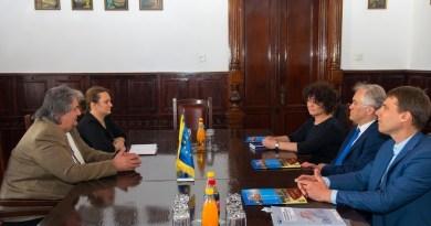 Lugoj Expres Consulul Germaniei, în vizită la Lugoj Werzalit vizită sprijin primăria lugoj Lugoj investitor întrevedere consulul Germaniei Camera de Comerț și Industrie Româno-Germană