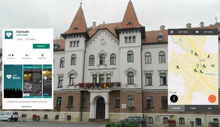 Lugoj Expres Lugojul în era digitală! Aplicație software pentru semnalarea problemelor din municipiu smart city semnalare probleme din oraș primăria lugoj Lugoj City Health Lugoj digitalizare City Health aplicație
