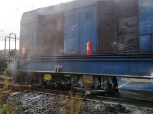Lugoj Expres incendiu locomotiva 3