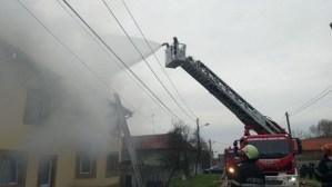 Lugoj Expres incendiu casa Maguri 2
