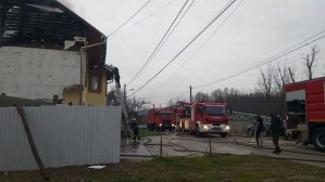 Lugoj Expres incendiu casa Maguri 4