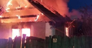 Lugoj Expres Incendiu la Belinț! O femeie, transportată la spital spital pompieri Lugoj locuință ISU Timiș intervenție incendiu femeie casă Belinț
