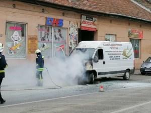 Lugoj Expres microbuz incendiu Lugoj 5
